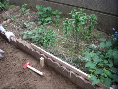 花壇ブロックレベル