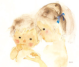 おねえさんと赤ちゃん