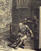ソクラテスに水を頭から浴びせるクサンティッペ