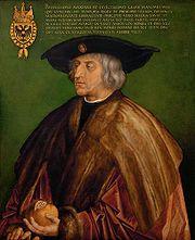 マクシミリアン一世 アルブレヒトデューラー