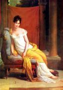 レカミエ婦人の肖像
