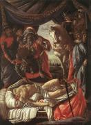 ホロフェルネスの遺体発見