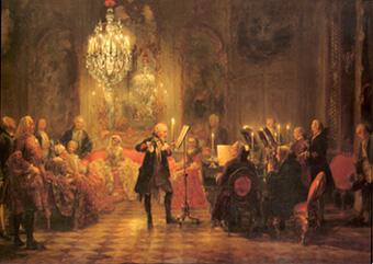 フリードリヒ大王のフルート・コンサート