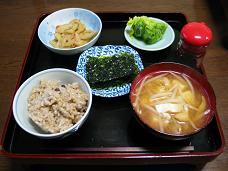 01-20 朝・玄米