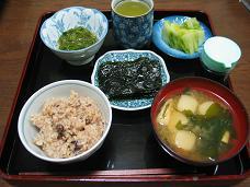01-23 朝 玄米