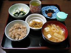 01-22 朝 玄米