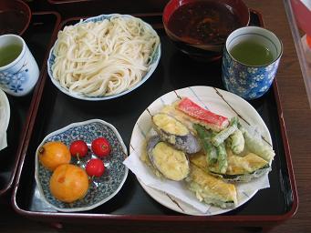 07-17 天ぷらうどん