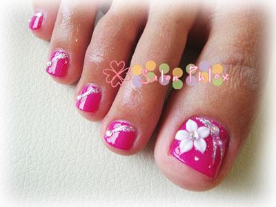 鮮やかピンク フット