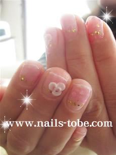 ピンク&お花