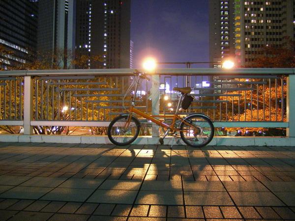 新宿と自転車
