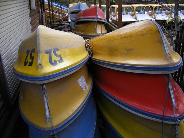 黄色いボート