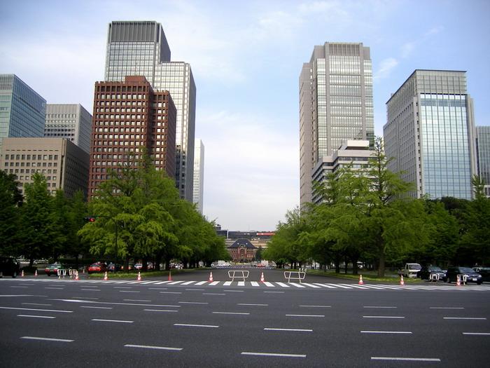 東京駅と丸の内