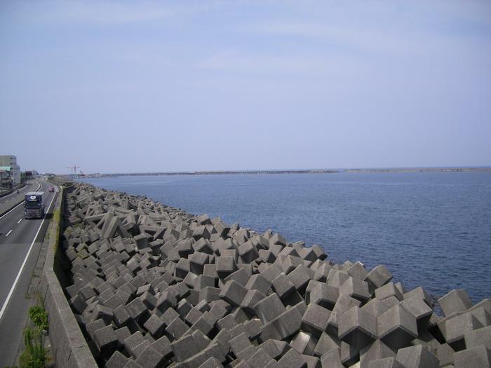 糸魚川展望台から