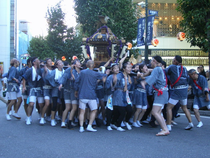 吉祥寺秋祭り3