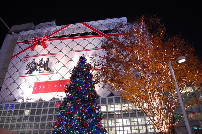 渋谷クリスマス1