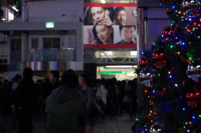 渋谷クリスマス2