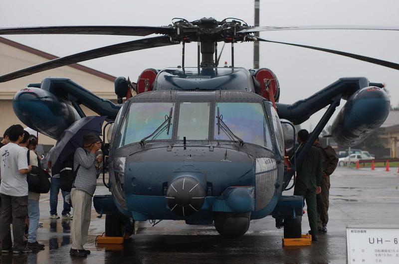 航空自衛隊UH-60洋上迷彩