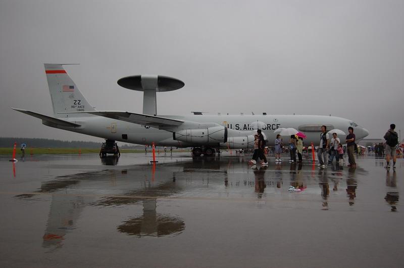 E-3早期警戒管制機