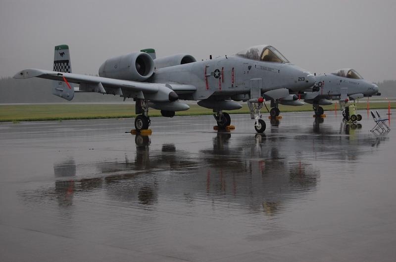 A-10サンダーイーグル攻撃機