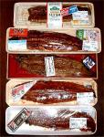 国産鰻の食べ比べ
