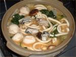 牡蛎の味噌鍋