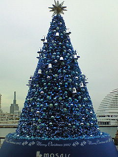 Christmas tree in kobe
