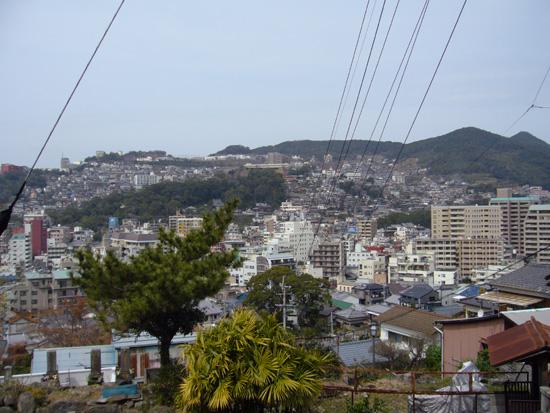 亀山社中跡から見た景色