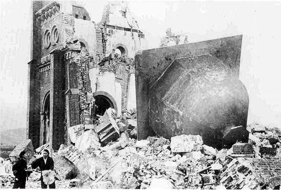 廃墟の浦上天主堂