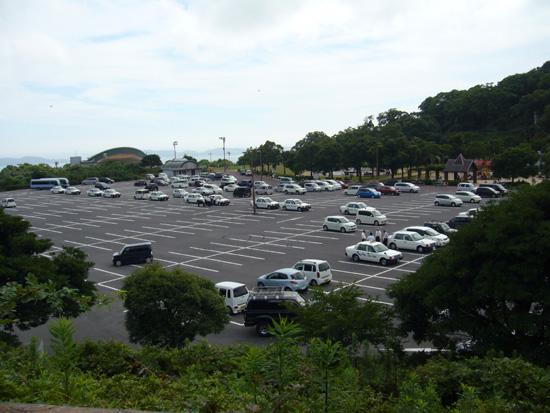 稲佐山野外コンサート駐車場