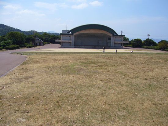 野外コンサート会場