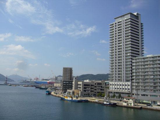 旭大橋からの眺め