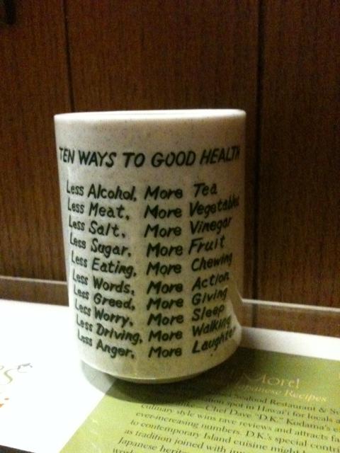 10 Ways to Good Health 3