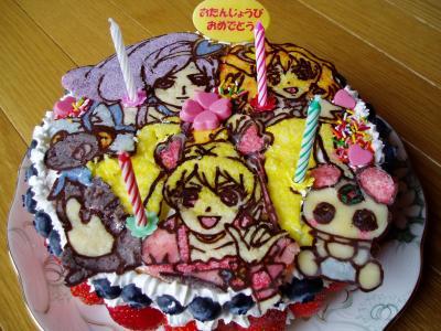 あーちゃん4才バースデーケーキ