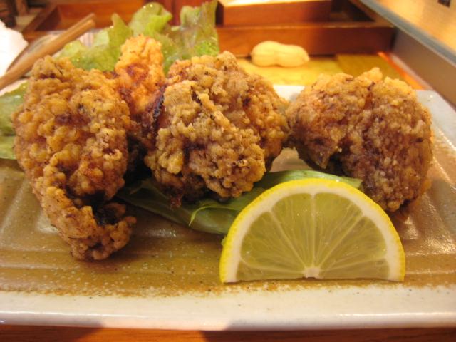 鶏の唐揚ハーフ
