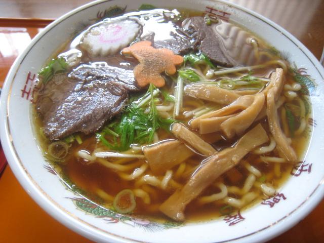馬肉チャーシュー麺