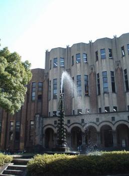 図書館前噴水