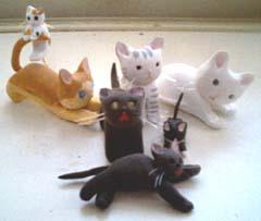 手作り猫たち