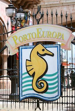 ポルトヨーロッパ入口