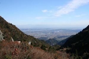 武平峠から