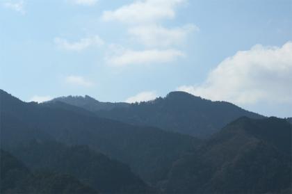 山、山、山