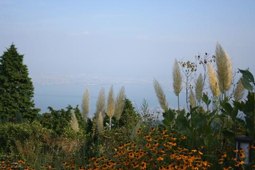 琵琶湖が見えますか?