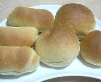 お家で 初作り-パン