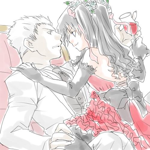 弓凛結婚式w