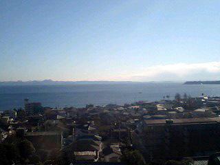 冬の三浦海岸