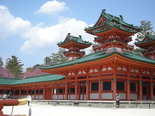 平安神宮正殿