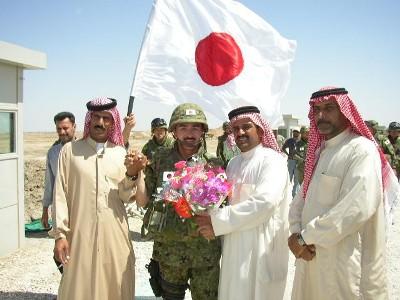 イラク・サマーワの自衛隊支援デモ02