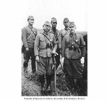 アッツ島の日本兵