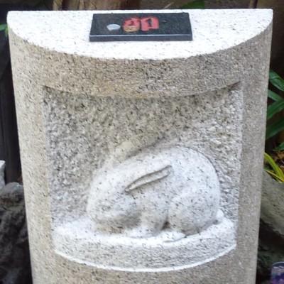 波除神社 兎