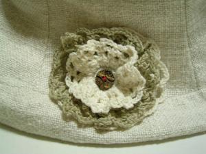 コサージュ(綿糸)