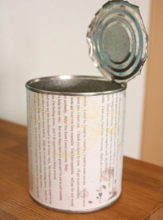 空き缶リメイク1